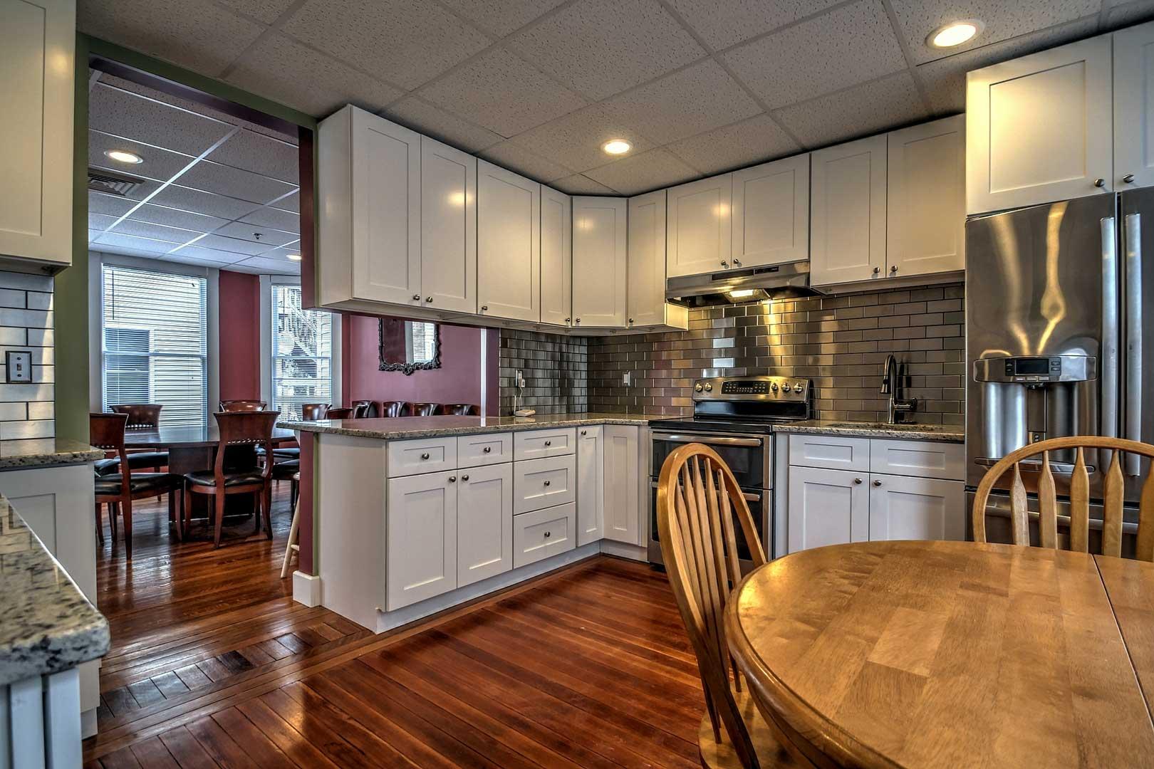 Sober house kitchen