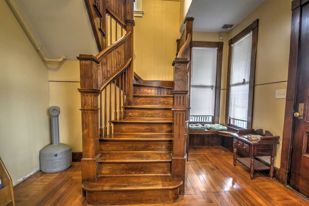 Sober house 2 floor stairs